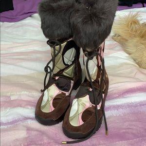 COACH Sasha Winter Boots- NEW
